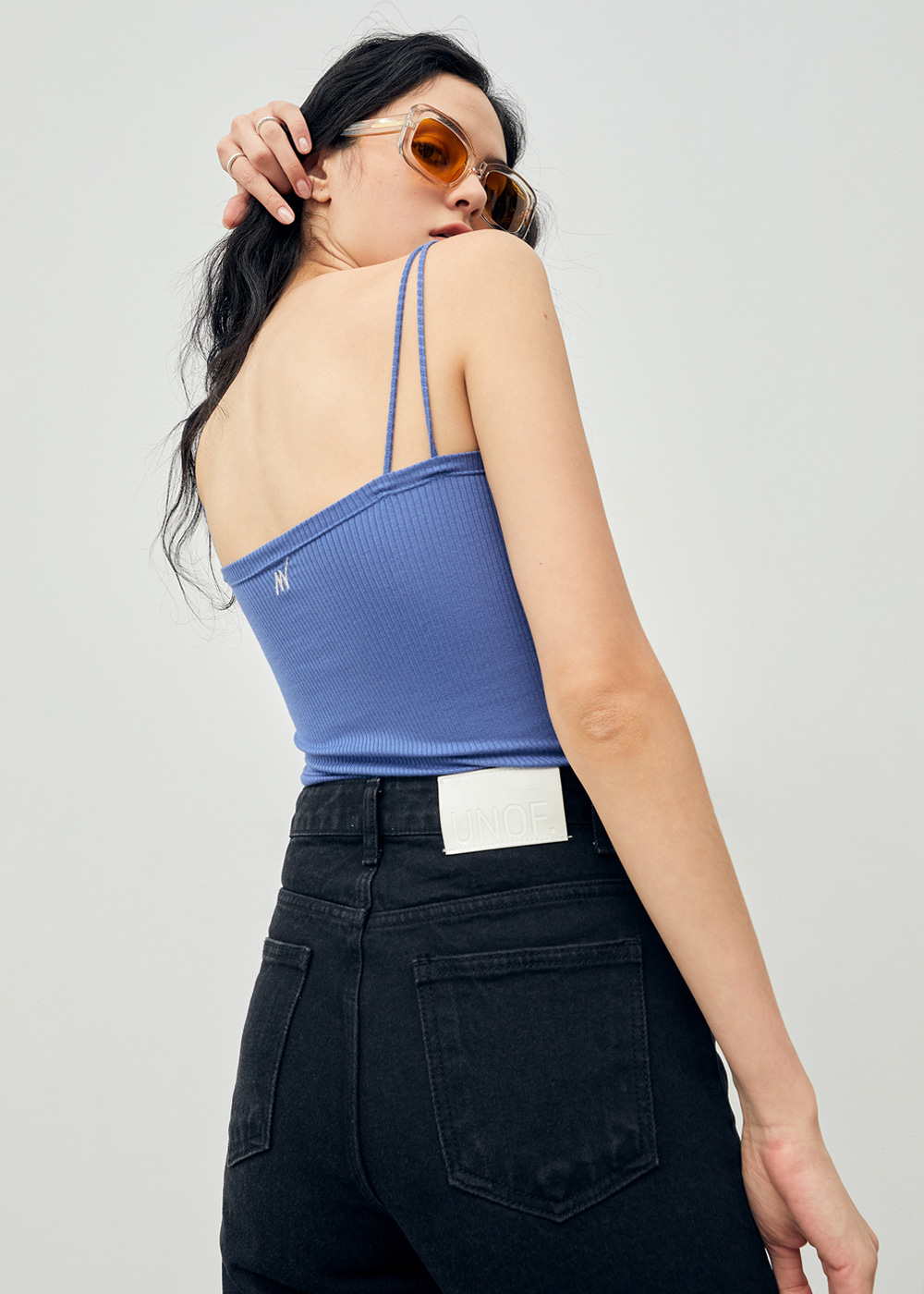 Soft Camisole Tank Blue